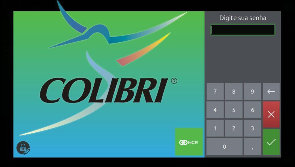 Pode ser usado com teclado e mouse ou tela touch